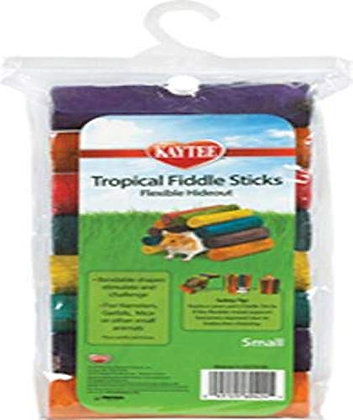 Superpet (Pets International) Kaytee Tropical Fiddle Sticks Hideout Multiple Col