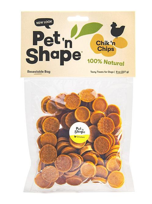 Pet 'n Shape Chik 'N Chips - All Natural Dog Treats, 8 Oz