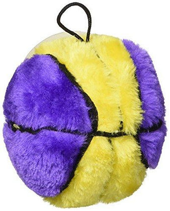 Ethical Plush Basketball Dog Toy, 4-1/2-Inch colors may vary