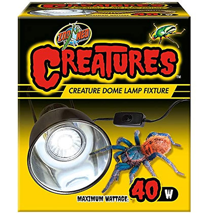 Zoo Med Creatures Creature Dome Lamp Fixture - 40 W