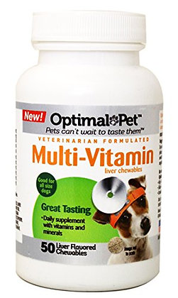 Optimal Pet 50 Count Dog Multi Vitamin Chewables