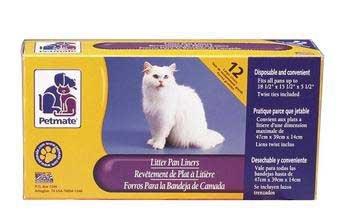 Petmate Litter Pan Liners Large (12 Pack)