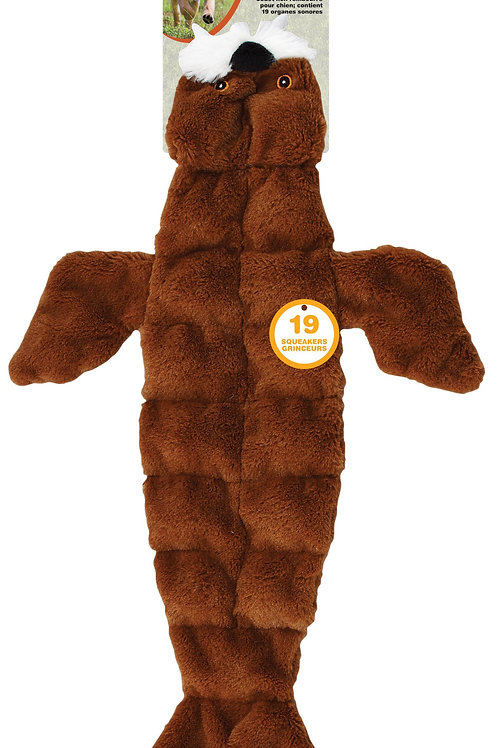 SPOT Ethical Pets Skinneeez Tons of Squeakers Walrus Dog Toy, 21-Inch