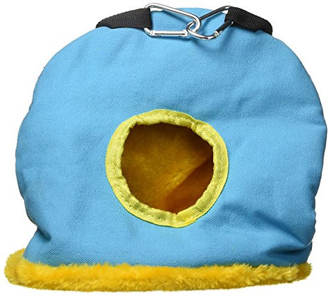 Prevue Pet Products BPV1169 Large Snuggle Sack Bird Nest with 3-1/2-Inch Opening
