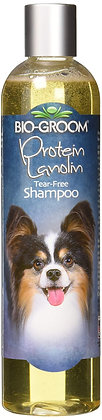 Bio-Groom DBB20012 Protein Lanolin Tearless Concentrate Small Pet Shampoo, 12-Ou