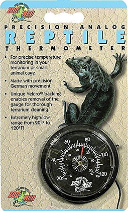 Zoo Med Analog High Range Reptile Thermometer