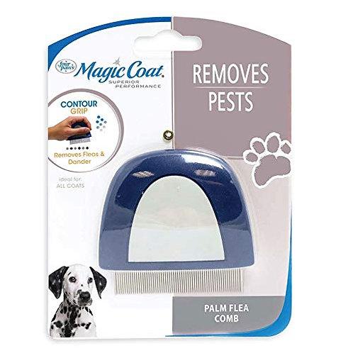 Four paws Magic Coat Dog Grooming Palm Flea Comb