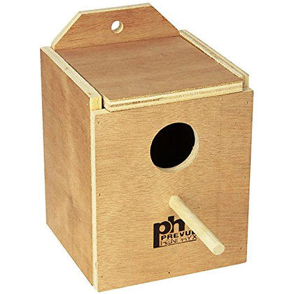 Prevue Pet Products BPV1101 Wood Inside Mount Nest Box for Birds, Finch