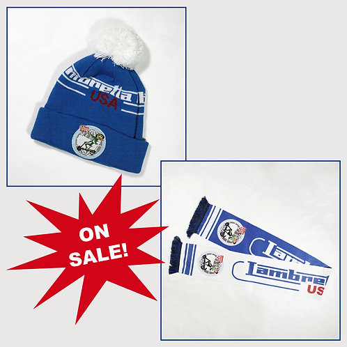 Hat & Scarf Combo Sale!