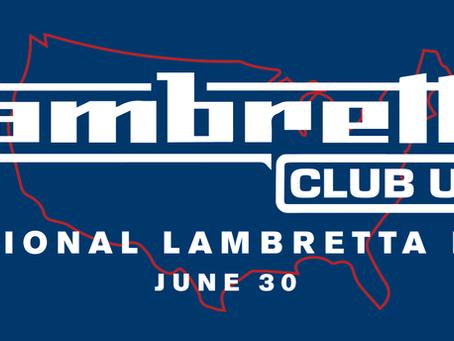 NATIONAL Lambretta day 2021