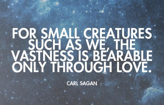 Carl Sagan quote