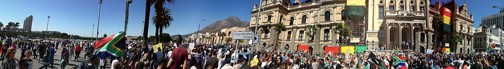 Protests in Cape Town