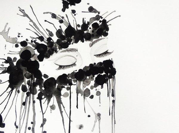 Hijab painting by Salwa Najm