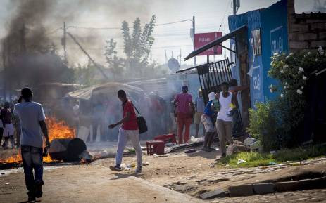 xenophobic looting South Africa