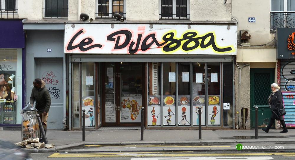 Le Djassa Resto, Paris