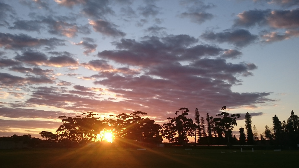 Sunset view Clarendon High School for Girls