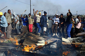 South Africa xenophobia 2015