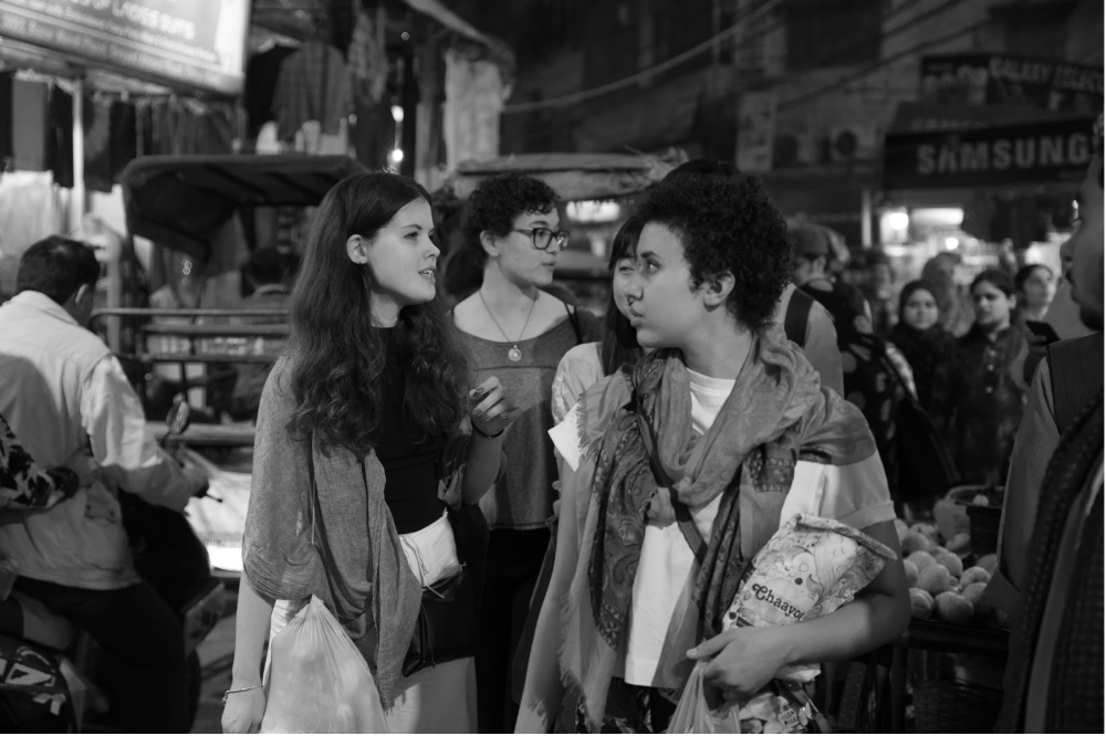 Rebecca Mqamelo – Old Delhi street scene, India