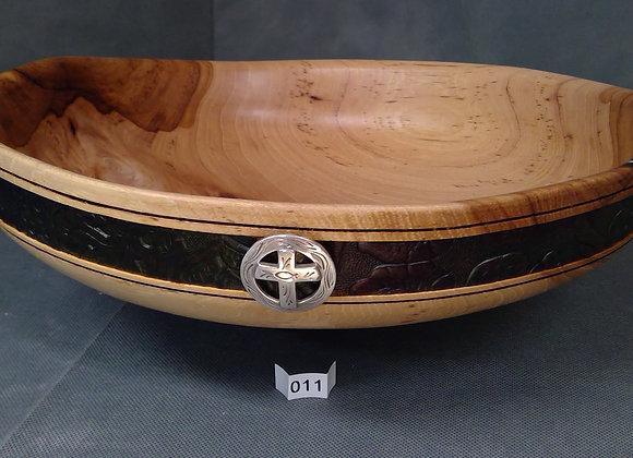 Western Look Peacan Bowl