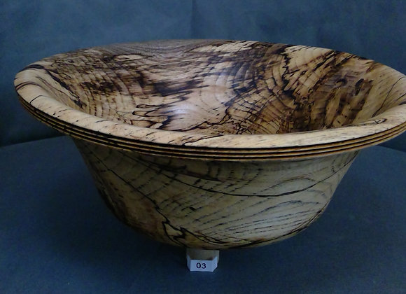Delicate Hackberry Wood Bowl