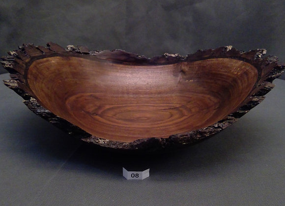 Wonderfully Crafted Walnut Vessel