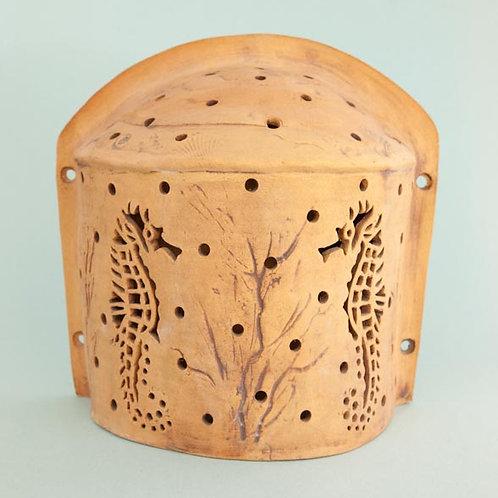 Half-Domed Sconce - Seahorse Design