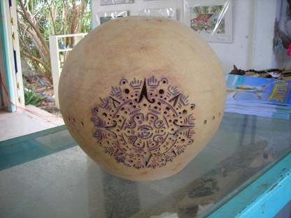 Globe Pendant - Aztec Design.jpg