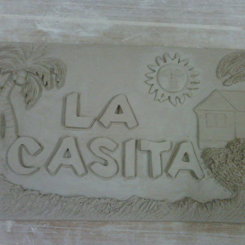 House Sign - La Casita