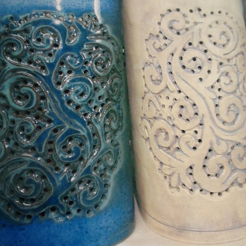 "12 "" Sconce Anegada Design - Seagrape & Tamarind"