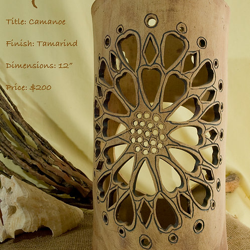 "12"" Sconce Camanoe Design - Tamarind"