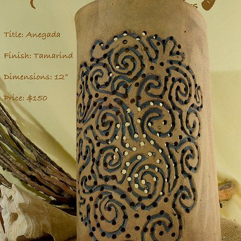 """12"""" Sconce Anegada Design - Tamarind"""