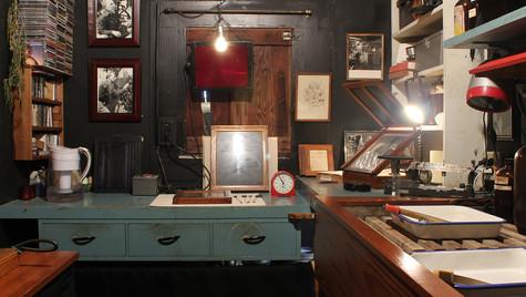 Edward Weston's Darkroom