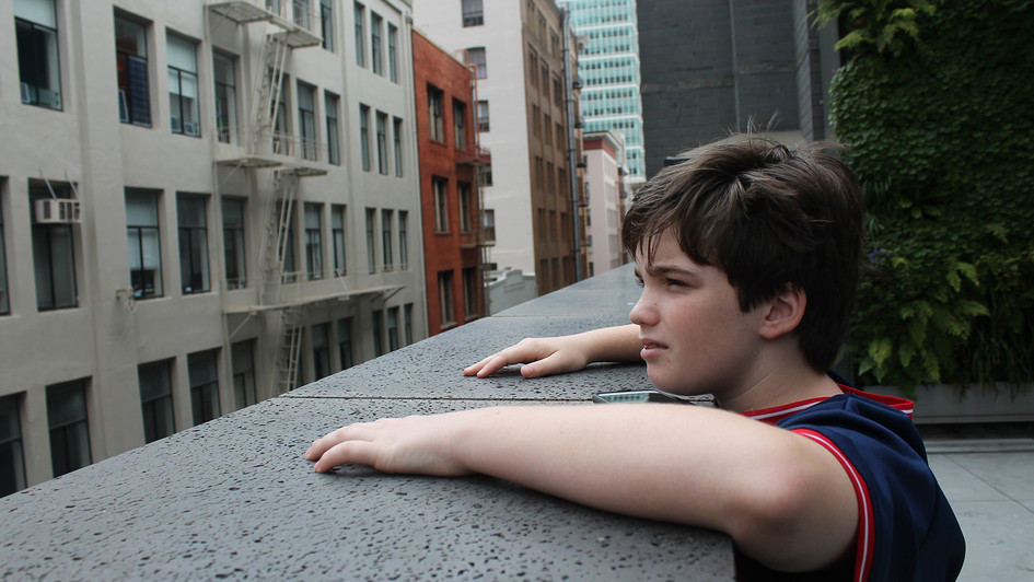 Boy in the City