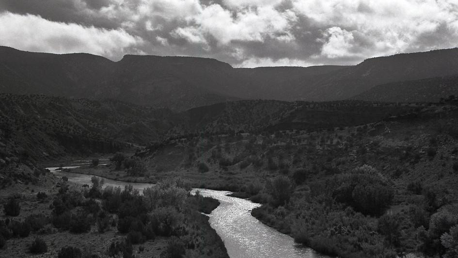Chama River, Abiquiu, NM