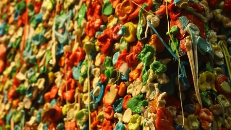 The Gum Wall- Seattle, WA