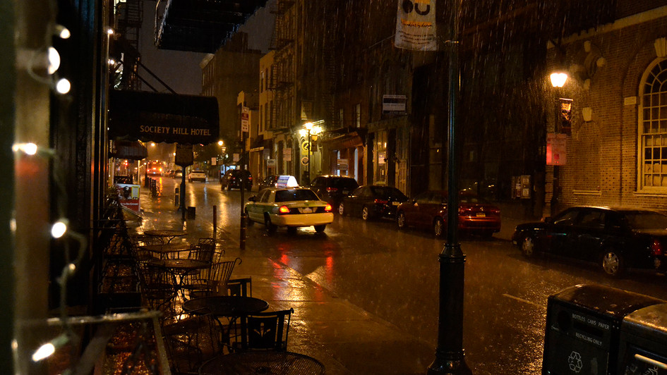 Rainfall - Philadelphia, PA
