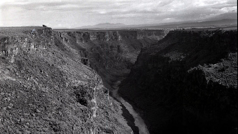 The Rio Grande Gorge, Taos, NM