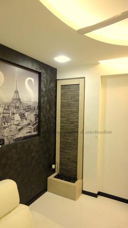 Decorative waterwall