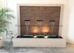Craftstone (white) waterwall