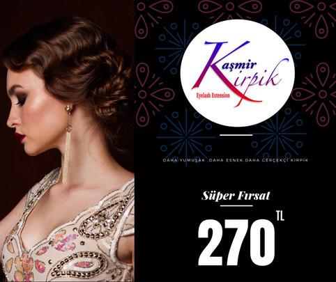 Kaşmir Kirpik Kampanyamız
