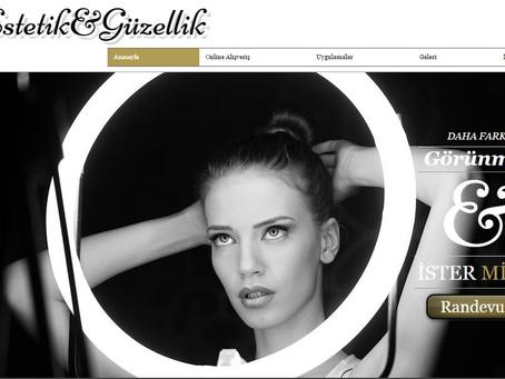 Estetik ve Güzellik Kadın'ın internetteki yeni adresi