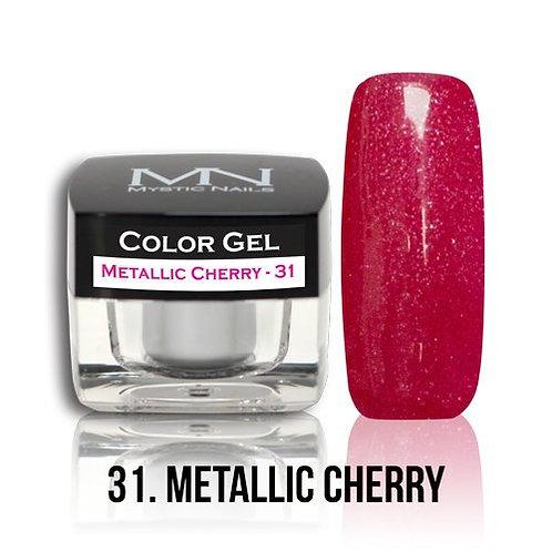 MN Color Gel Metallic Cherry 31