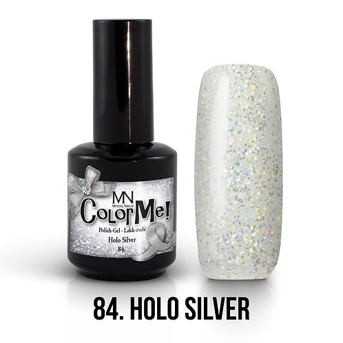 MN Color Gel Holo Silver 84