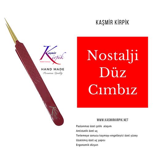 Kaşmir Kirpik® Nostalji Serisi Düz Cımbız