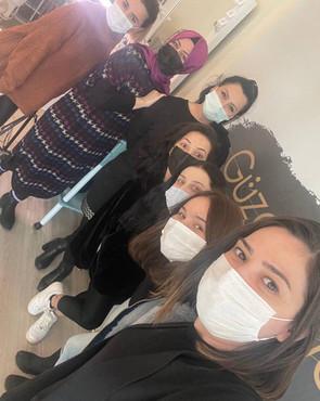 Kaşmir Kirpik Öğrencilerimle