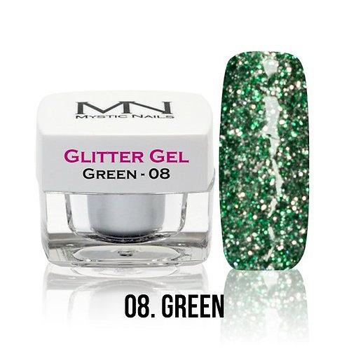MN Glitter Gel Green 4 g