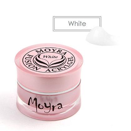 Moyra Füzyon Akrilikjel | Beyaz| 5 gr