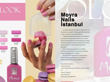 Hyasminbeauty ve Moyra Nail's Türkiye arasında İstanbul Bölgesi Distrübütörlüğü anlaşması imzala