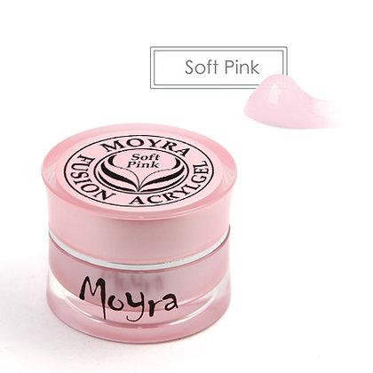 Moyra Füzyon Akrilikjel | Soft Pink| 5 gr