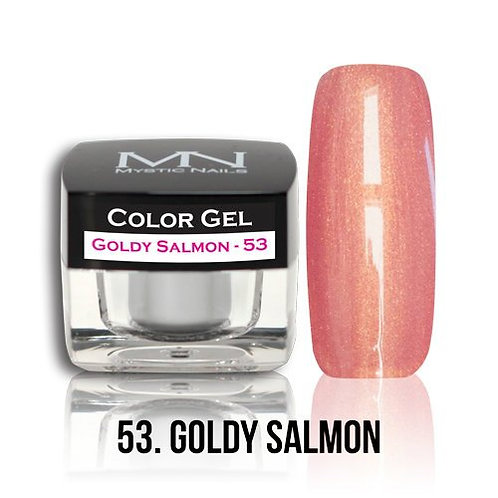 MN Color Gel Goldy Salmon 53